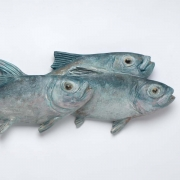 "Rebekah Raye-Swimming Home-mahogany 8""X30"".jpg"