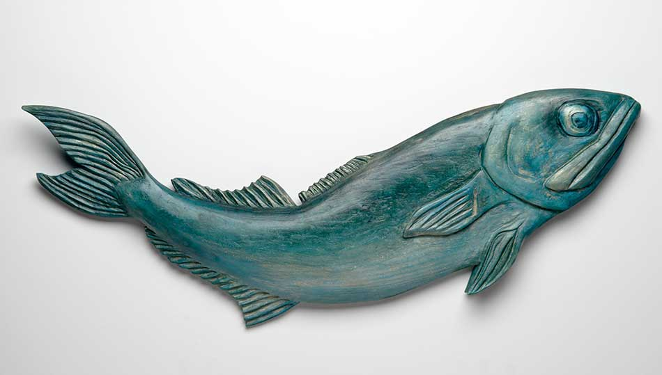Carved Fish Rebekah Raye