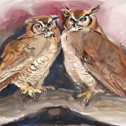 Two-Owls-Painting