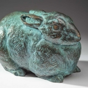 Bronze Rabbit<br /> Sold (another in the works)